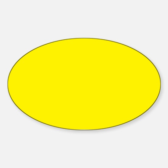 Aureolin Yellow Solid Color Decal