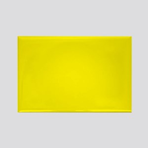 Aureolin Yellow Solid Color Magnets