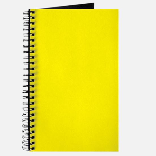 Aureolin Yellow Solid Color Journal