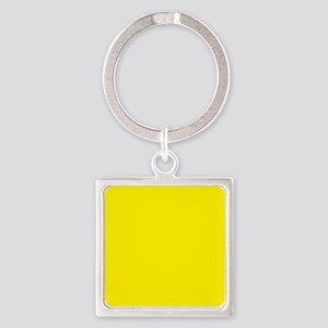 Aureolin Yellow Solid Color Keychains