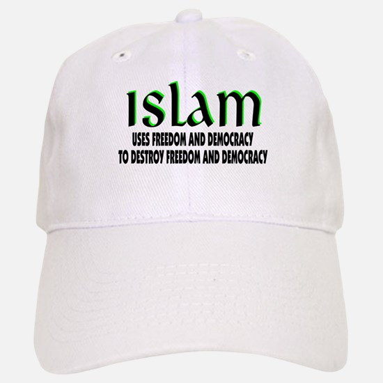 Using Democracy Baseball Baseball Cap