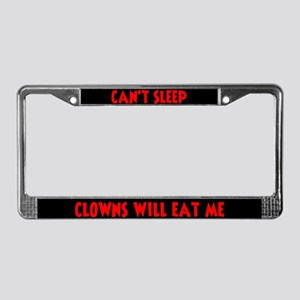 ClownsWillEatMe License Plate Frame