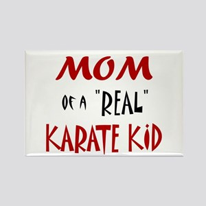 Karate Mom 2 (Cinnamon) Rectangle Magnet