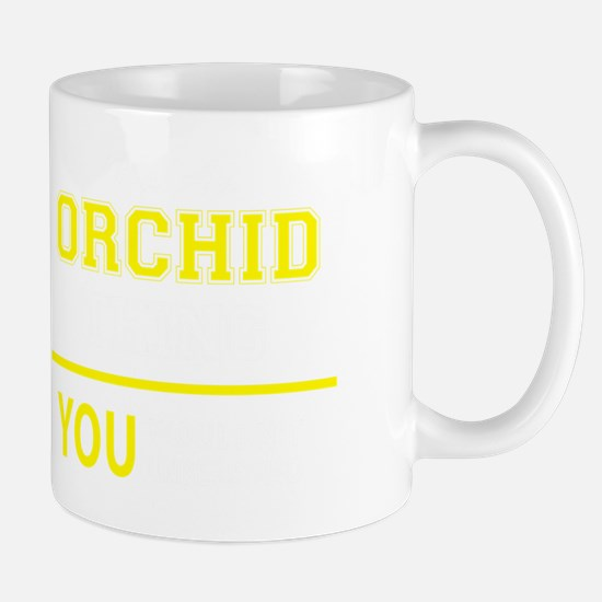 Unique Orchid Mug