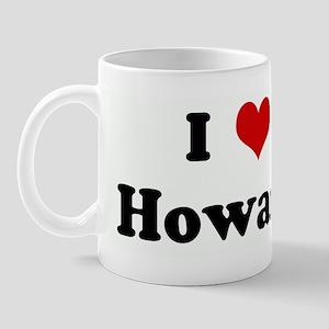 I Love Howard Mug