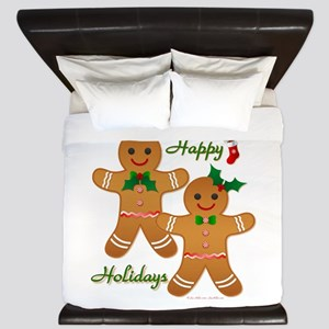 Gingerbread Man - Boy Girl King Duvet