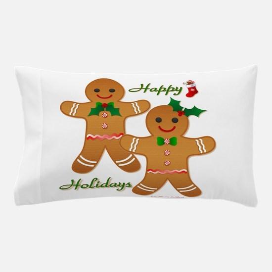 Gingerbread Man - Boy Girl Pillow Case