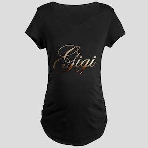 Gold Gigi Maternity T-Shirt