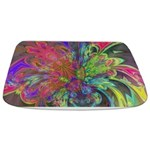 Bright Burst of Color Bathmat