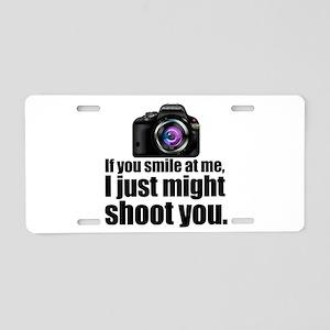 PHOTOs Aluminum License Plate