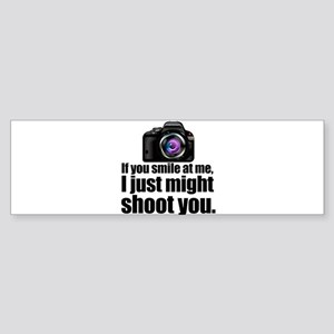 PHOTOs Bumper Sticker