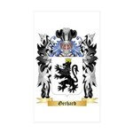 Gerhard Sticker (Rectangle 10 pk)