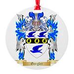 Gergler Round Ornament