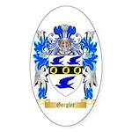 Gergler Sticker (Oval 10 pk)