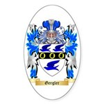 Gergler Sticker (Oval 50 pk)