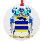 Gergg Round Ornament
