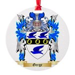 Gerge Round Ornament