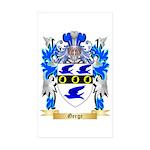 Gerge Sticker (Rectangle 50 pk)