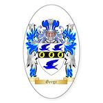 Gerge Sticker (Oval)