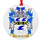 Gerg Round Ornament