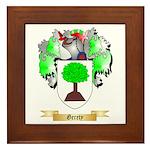 Gerety Framed Tile