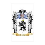 Gerdts Sticker (Rectangle 50 pk)