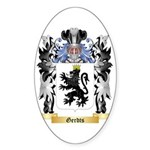 Gerdts Sticker (Oval 50 pk)