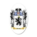 Gerdts 35x21 Oval Wall Decal