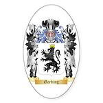 Gerding Sticker (Oval 10 pk)
