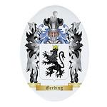 Gerding Ornament (Oval)