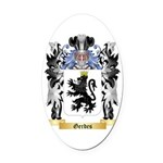 Gerdes Oval Car Magnet