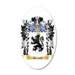 Gerault 35x21 Oval Wall Decal