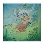 Krishna & Radha Tile