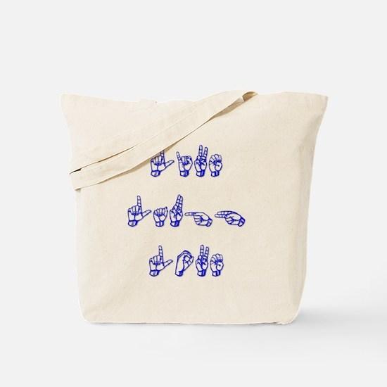Live Laugh Love -vertical Tote Bag
