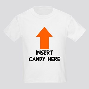 Insert candy here Kids Light T-Shirt