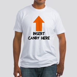 Insert candy here Fitted T-Shirt