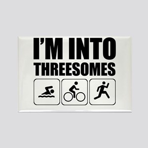 threesome Magnets