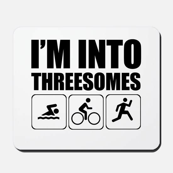 threesome Mousepad