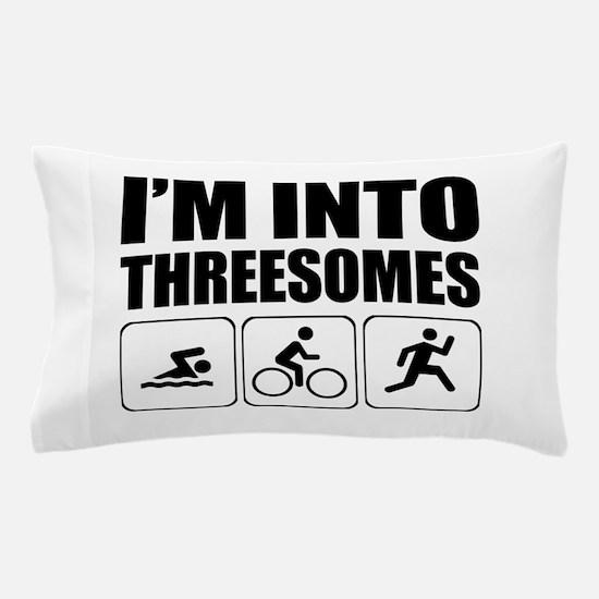 threesome Pillow Case