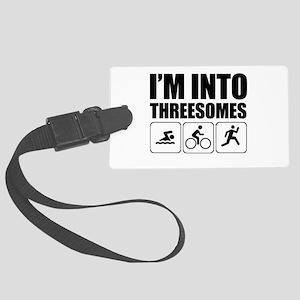 threesome Luggage Tag