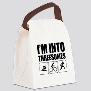 threesome Canvas Lunch Bag
