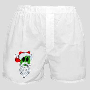 Christmas Alien Boxer Shorts