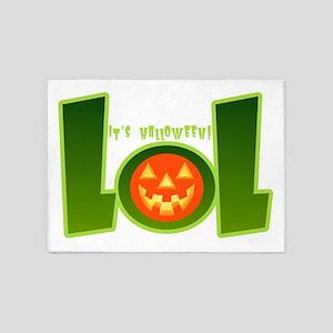 It's Halloween! LOL 5'x7'Area Rug