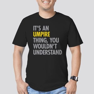 Its An Umpire Thing Men's Fitted T-Shirt (dark)