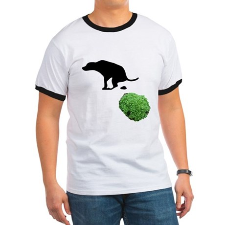 3-dog-on-bush T-Shirt