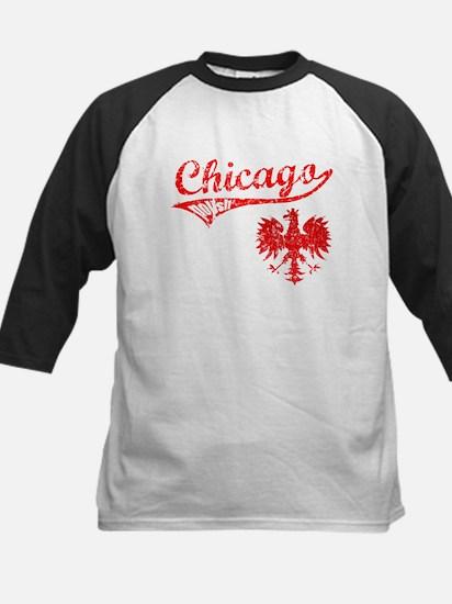 Chicago Polish  #3 Kids Baseball Jersey