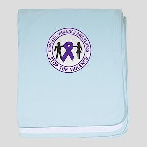 domestic violence baby blanket