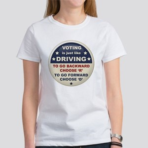 Voting Like Driving Women's T-Shirt