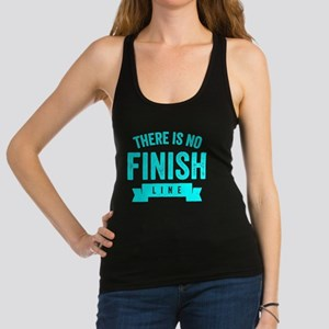 There Is No Finish Line Racerback Tank Top