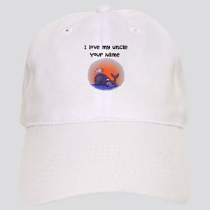 I Love My Uncle Whales Baseball Cap
